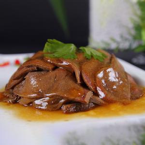 B03. Stir-Fried Ox Tongue with Green Onion 清真扒牛舌
