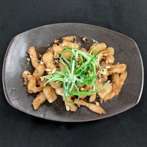 """A6. Sweet Fried Chicken Strips """"Gang Jung Chicken"""