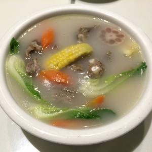 K17. Lamb Ribs Soup 养身羊排汤