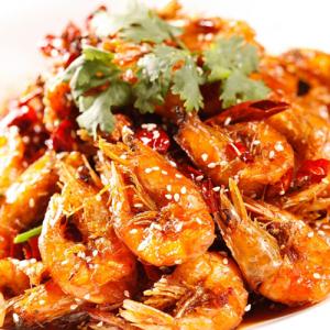 F01. Szechwan Style Shrimp 香辣虾