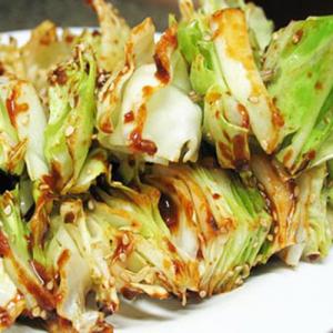 16. BBQ Taiwan Cabbage (2) 高丽菜