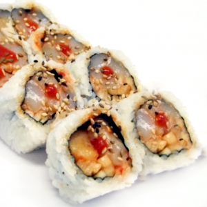 20.Spicy Scallop Roll