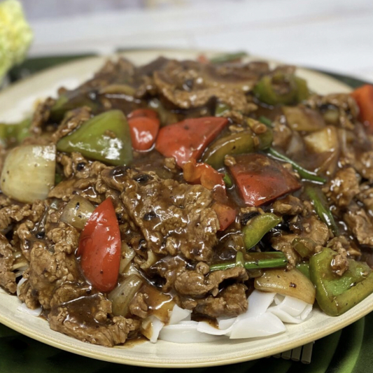 134. Beef with Black Bean Sauce