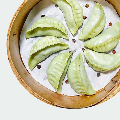 D20. Veggie Dumplings