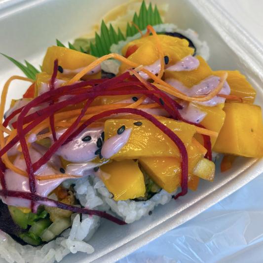 Mango Flower Roll