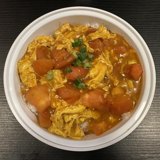 R8. Tomato & Egg on Steamed Rice