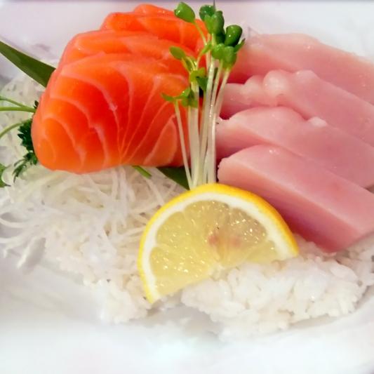 Salmon & Tuna Don