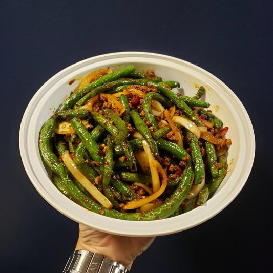 V10. Szechuan String Beans