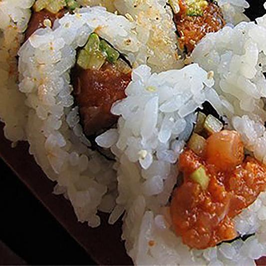 Spicy Salmon Roll (8 pcs)