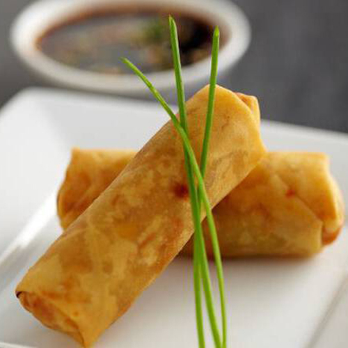 4A. Vegetarian Spring Rolls (2pc)