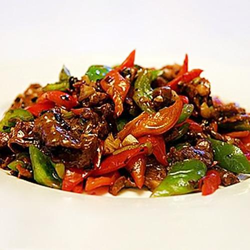 B05. Beef with Black Bean Sauce 豉椒牛肉