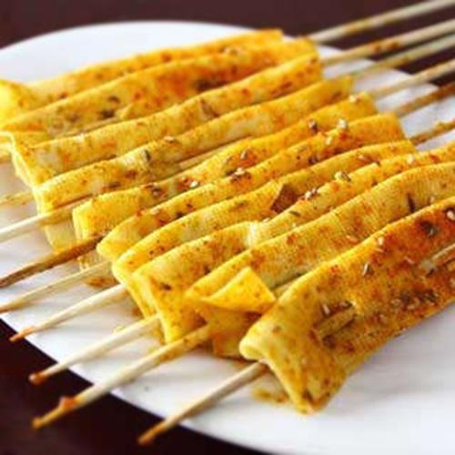 14. BBQ Fish Tofu (3) 干豆腐