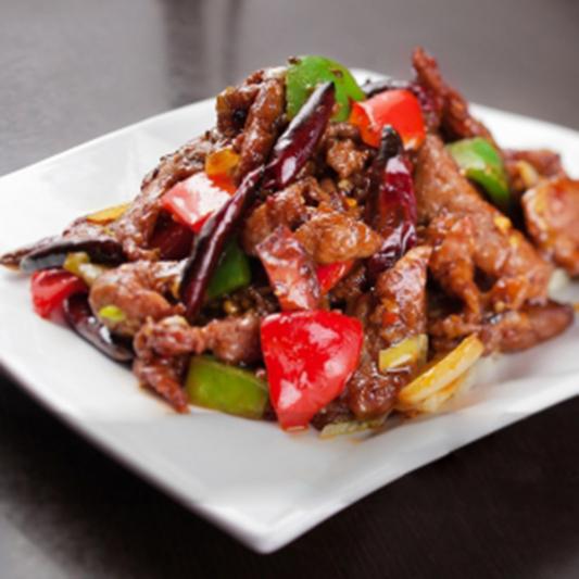 31. Spicy Beef Szechuan Style