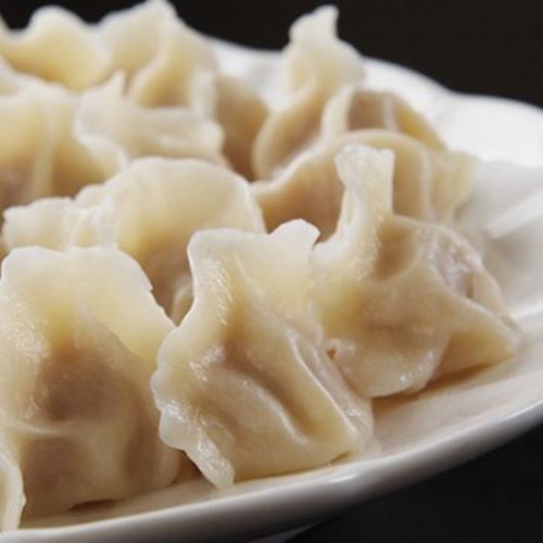 H06. Beef/Lamb Dumplings (5 pcs) 牛, 鸡肉水饺 (15个)