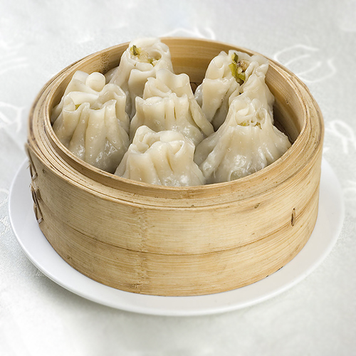 H11. Steamed Lamb Dumplings (10 pcs) 清真烧麦  (10个)