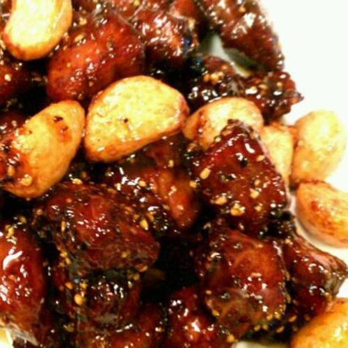 B13. Black Pepper Garlic Beef Tablets 黑蒜子牛肉 粒