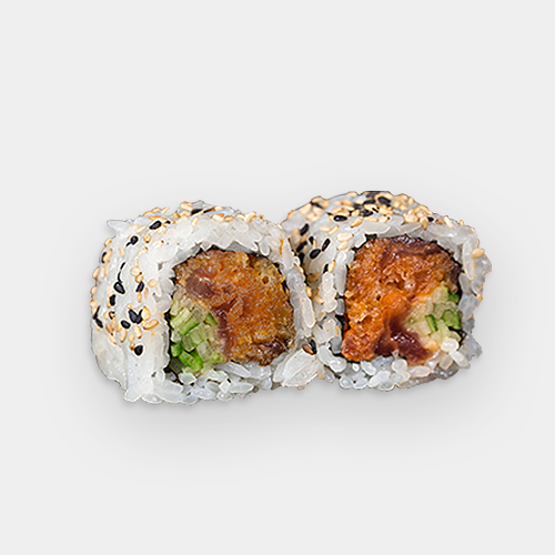 23. Spicy Tuna & Crunch Roll (8 pcs)
