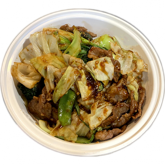 B6. Beef & Mixed Vegetables
