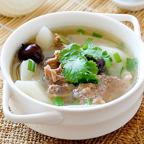 K08. Lamb Rib with Wintermelon in Soup 冬瓜羊排锅