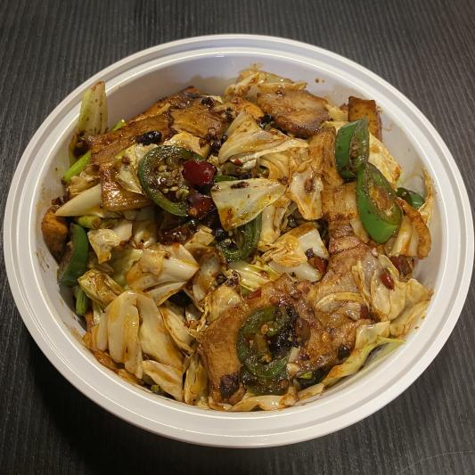 P2. Szechuan Marbled Pork & Cabbage