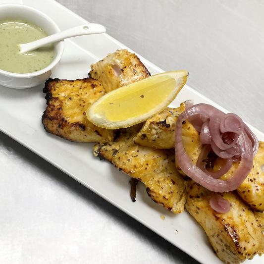 Mustard Fish Tandoori
