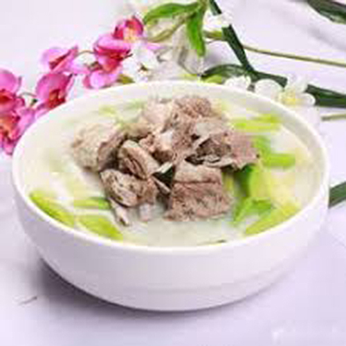 K09. Lamb Rib with Vegetable in Soup 羊排砂锅