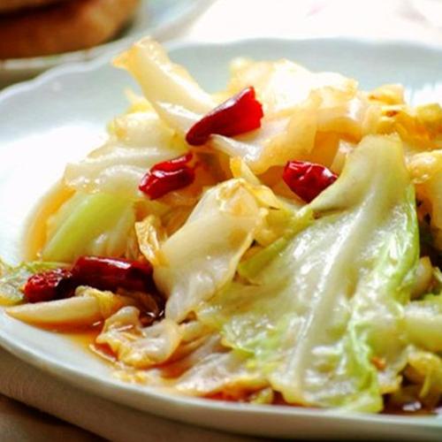 G10. Stir-Fried Cabbage 炝高丽菜