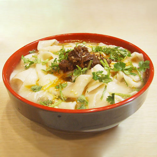 H01. House Hand-Made Noodle Soup with Lamb 河南手工烩面