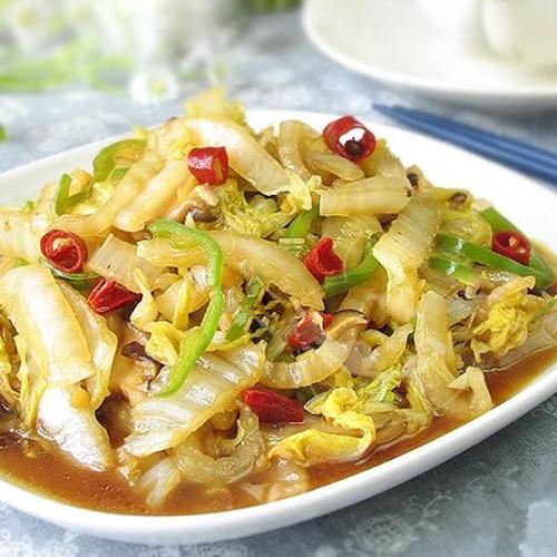 G15. Stir-Fried Preserved Cabbage with Crystal Noodle酸菜炒粉条