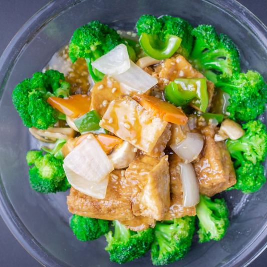 78. Braised Bean Curd with Vegetables