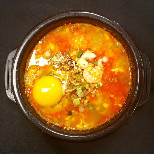 S2. Sea Food Soft Tofu Stew