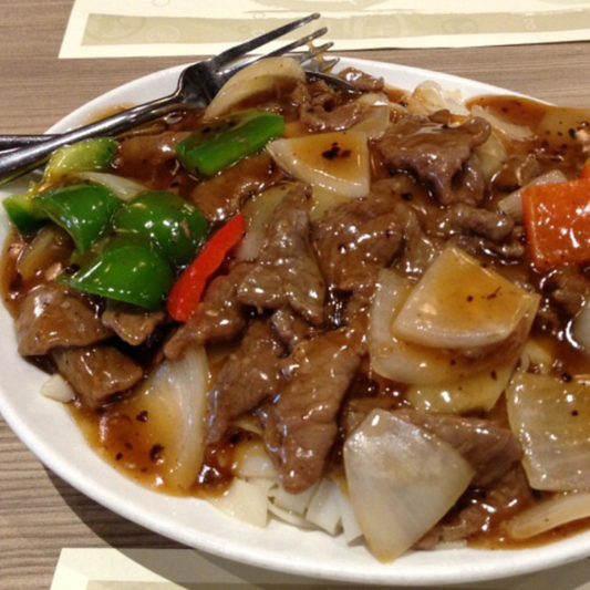 30. Beef with Black Bean Sauce