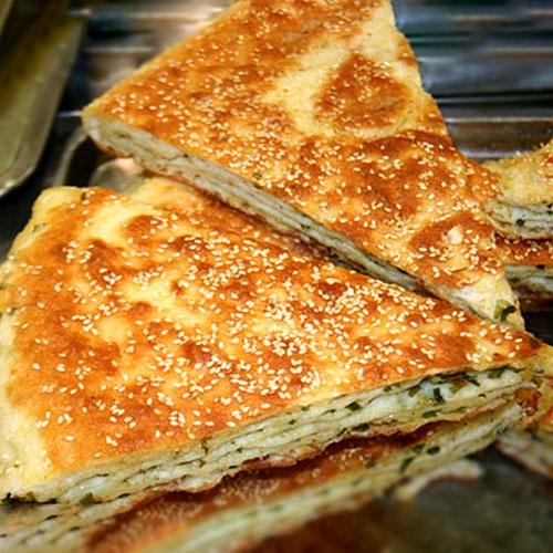 H08. Pan-Fried Sesame Bread 芝麻大饼