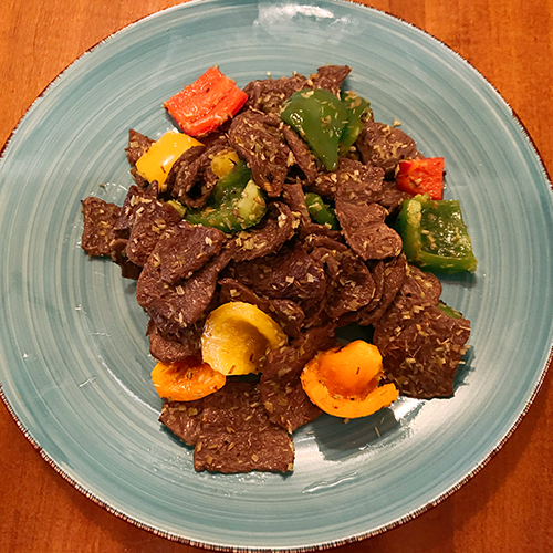 Vegan Lemongrass Stir Fried Beef