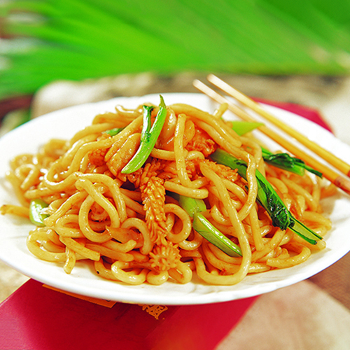 H25. Fried Noodle with Seafood 海鲜炒面