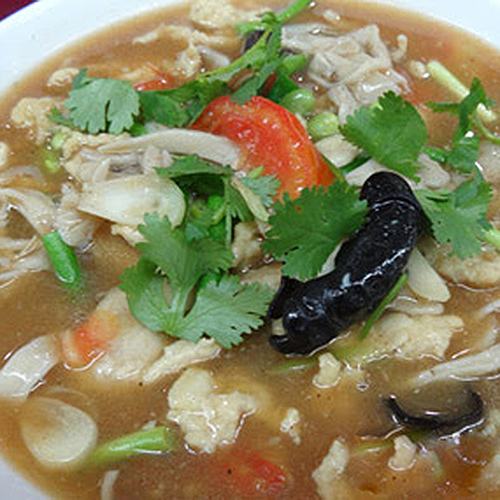 K18. Sliced Lamb Soup 回民肉片汤