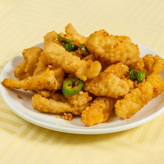 5. Deep Fried Squid with Spicy Salt & Pepper