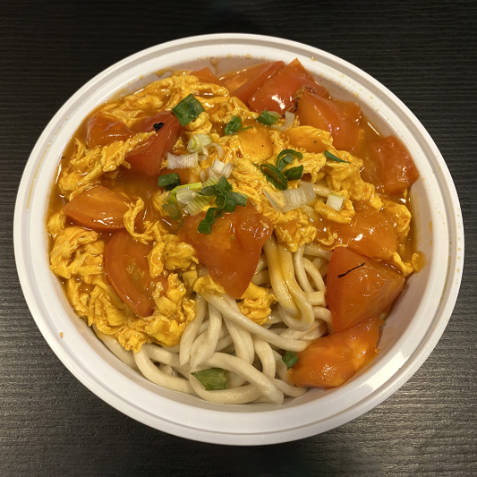 N13. Tangy Tomato & Egg Noodles