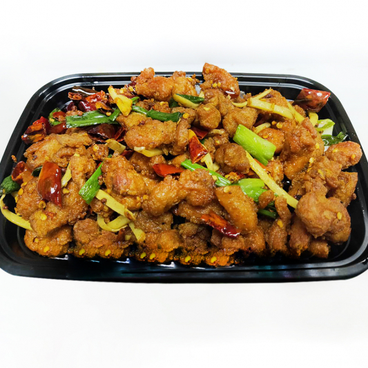 2-6 Spicy Chicken Cubes with Peanuts