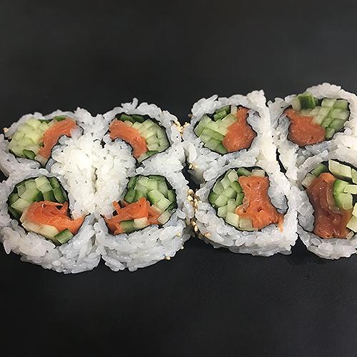 17. Smoked Salmon Roll (8 pcs)