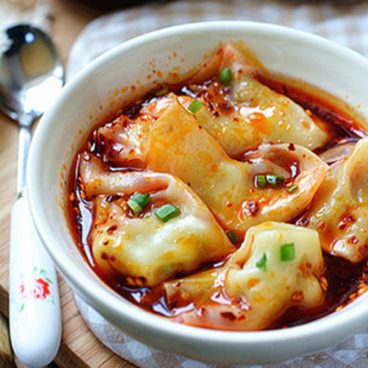 6. Wonton in Spicy Garlic & Pepper