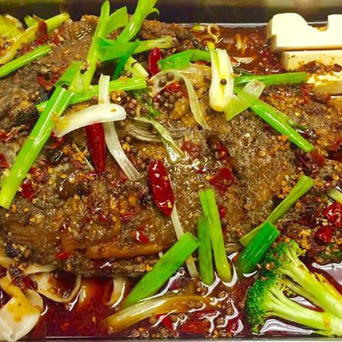 S7. BBQ Fish Hot Pot 中华特色烤鱼