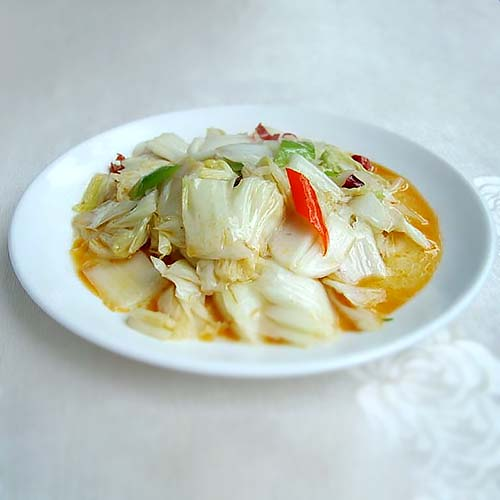 G04. Chinese Cabbage with Sweet & Sour Sauce 醋溜白菜