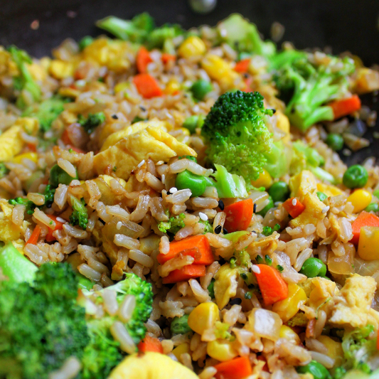 114. Vegetable Fried Rice