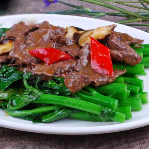 B22. Stir-Fried Beef with Chinese Broccoli 芥兰炒牛肉