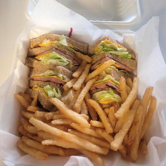 Triple Stack Chicken Bacon Club