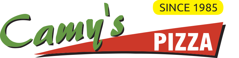 Camy`s Pizza sweets and Curry House logo