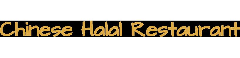 Chinese Halal Restaurant  logo