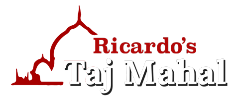 Ricardo's Taj Mahal logo
