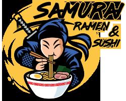 Samurai Ramen & Sushi logo